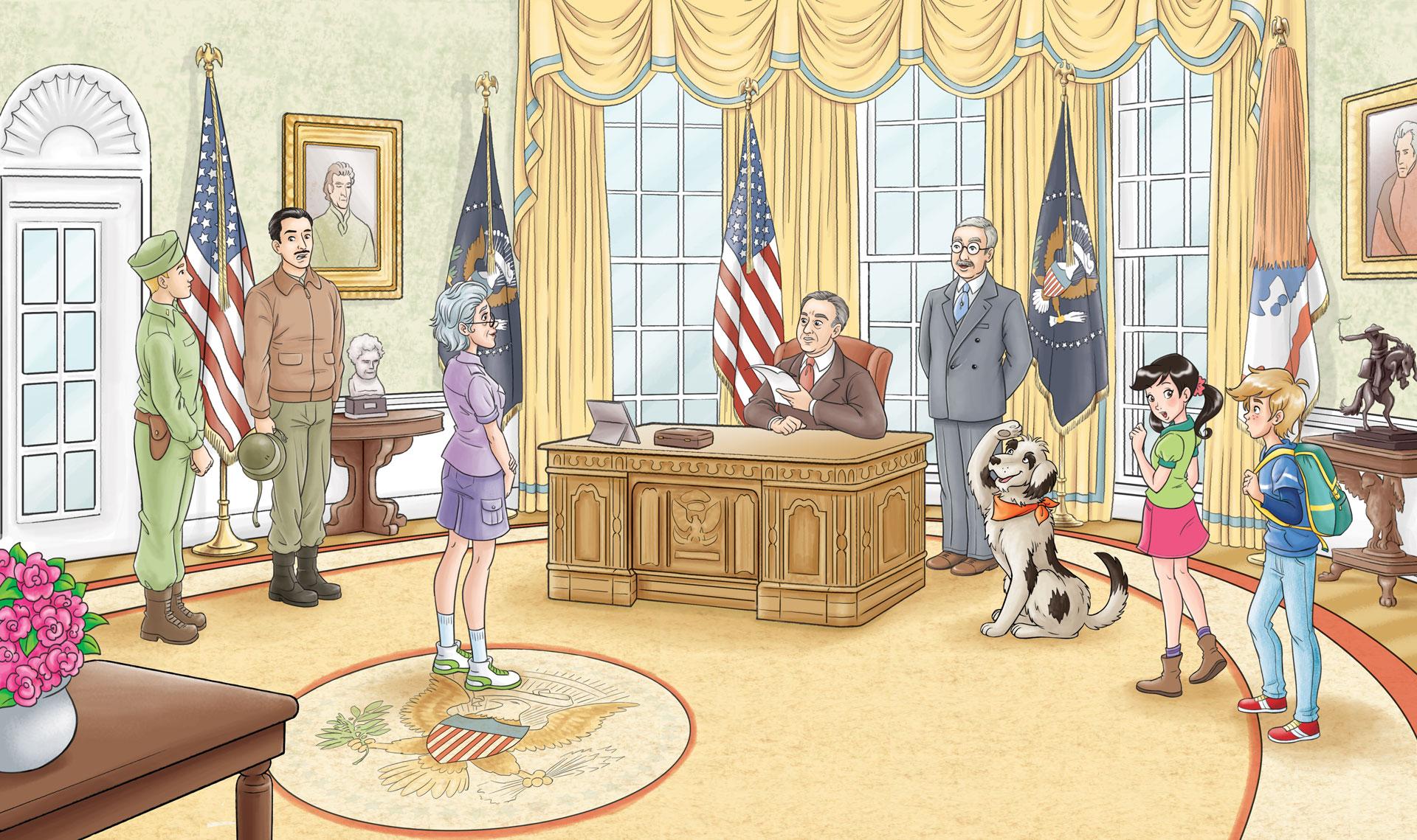 Illustrazione Artonauti Roosevelt