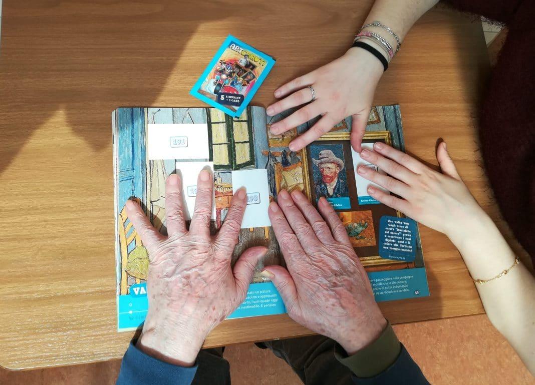 Artonauti album terapeutico anziani