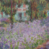 Twin Card 016 - Claude Monet - Il giardino dell'artista a Giverny