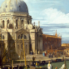 Twin Card 021 - Antonio Canaletto - Ingresso del Canal Grande