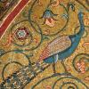 Twin Card 022 - Mosaico con pavoni