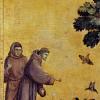 Twin Card 025 - Giotto - San Francesco  predica agli uccelli
