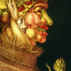 Twin Card 006 - Giuseppe Arcimboldo - Estate